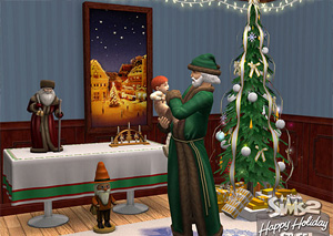 Sims 2 holiday stuff